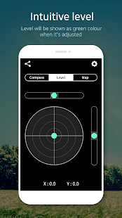 App Compass 9: Smart Compass (Level / real-time map) APK for Windows Phone