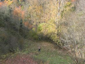 Photo: aquí el sendero casi desaparecido, hay tracks