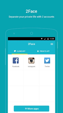2Face - Multi Accounts 1.3.6.0794 screenshot 805026