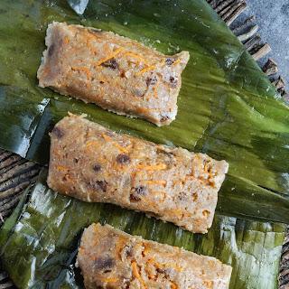 Ducana (Antiguan Sweet Potato Dumpling).