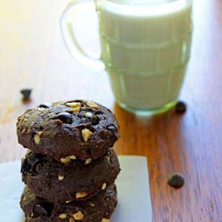 Double Chocolate Peanut Avocado Cookies.