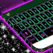 Electric Color Keyboard Theme