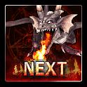 Fire Dragon Next 3D LWP icon