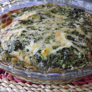 No Crust! - Quick and Easy Spinach Quiche