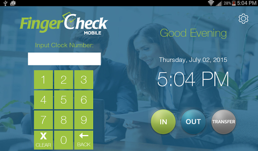 FingerCheck Time Clock