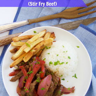Peruvian Beef Stir Fry (Lomo Saltado)