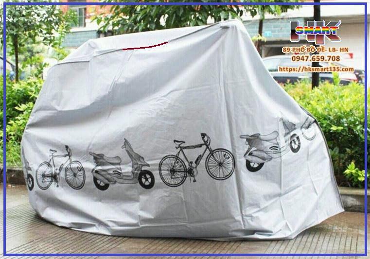 Áo trùm xe máy chống mưa nắng