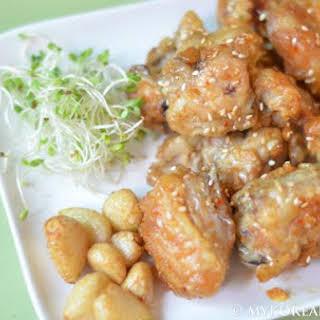 Korean Fried Chicken (aka KFC).