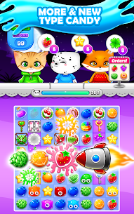 Candy Sweet Fruits Blast  – Match 3 Game 2020 8