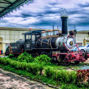 Vintage Train by Ricky Cuaresma - Transportation Trains ( vintagetrain, transportation, trains )