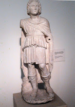 Photo: Marble statue of Alexander. Possibly from a group erected in Alexandria honouring Hephaistion. 1st century BC
