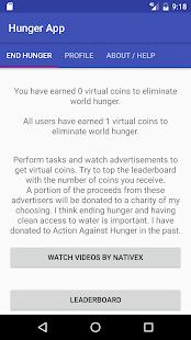 The Hunger App - náhled