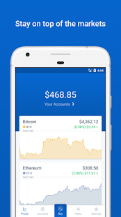 Coinbase - Buy Bitcoin & more. Secure Wallet.- screenshot thumbnail