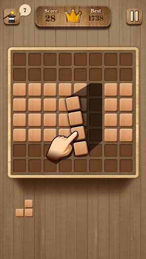 Wood Block Puzzle - Wooden Game 1.2 screenshots 2