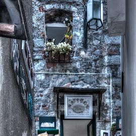 Rincones  by Jose Maria Vidal Sanz - City,  Street & Park  Historic Districts ( art, old city, street photography )