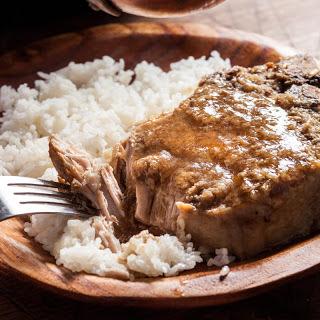Slow Cooker Braised Lemongrass Pork Chops