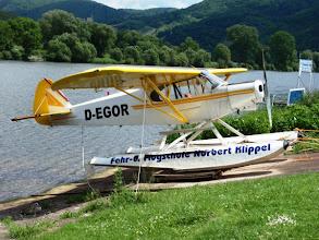 Photo: Wasserflugzeug an der Mosel