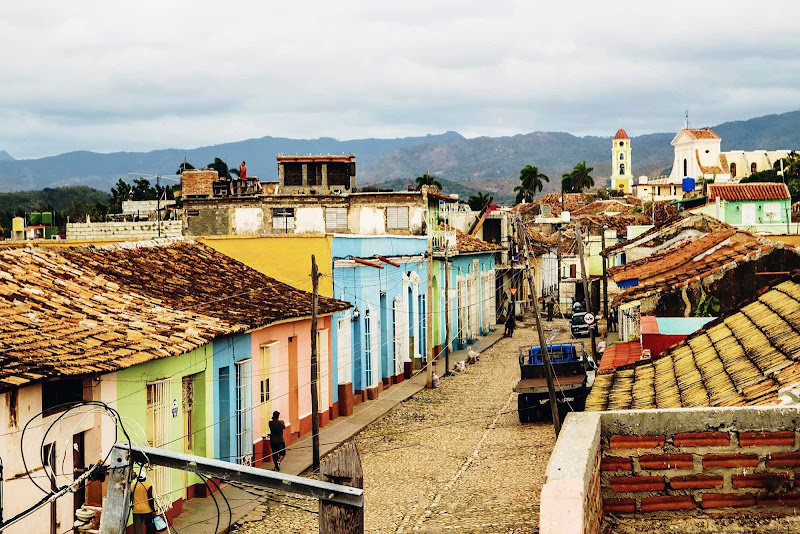 The town of Trinidad, Cuba, is a UNESCO World Heritage site.