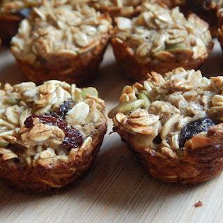 Mini Trail Mix Breakfast Muffins.
