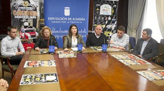 Diputación colabora con la III Rally Copa Valle del Almanzora que arrancará en Cantoria