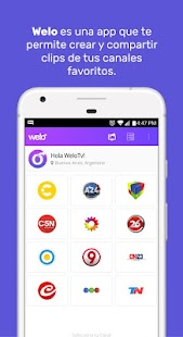Welo TV Clips & Capturas- screenshot thumbnail