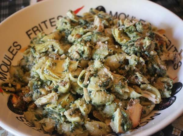 Chicken, Artichoke, Spinach, And Pasta Salad