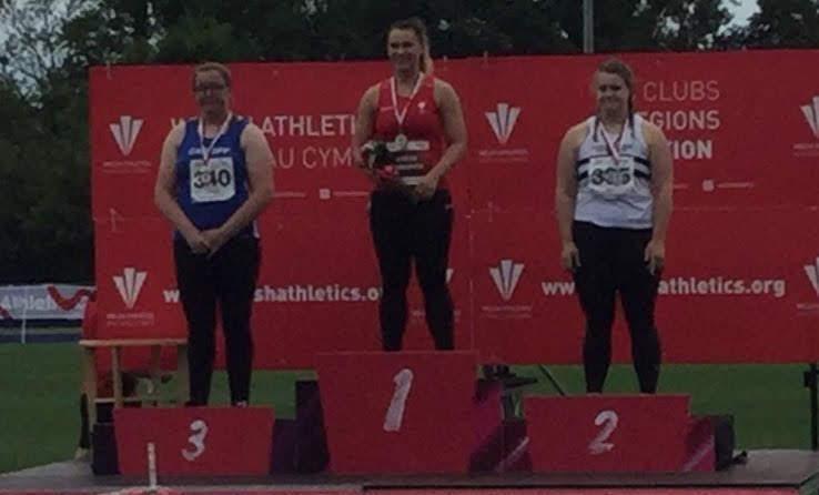 Welsh seniors gold for Adele