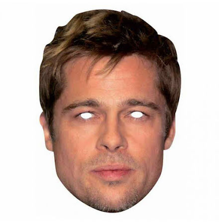Pappmask, Brad Pitt