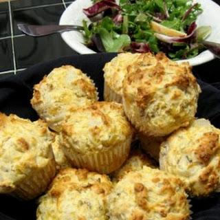 Vidalia Cheddar Pecan Muffins