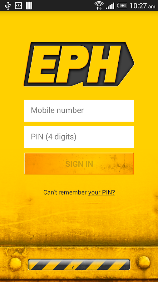 EPH Apps- screenshot