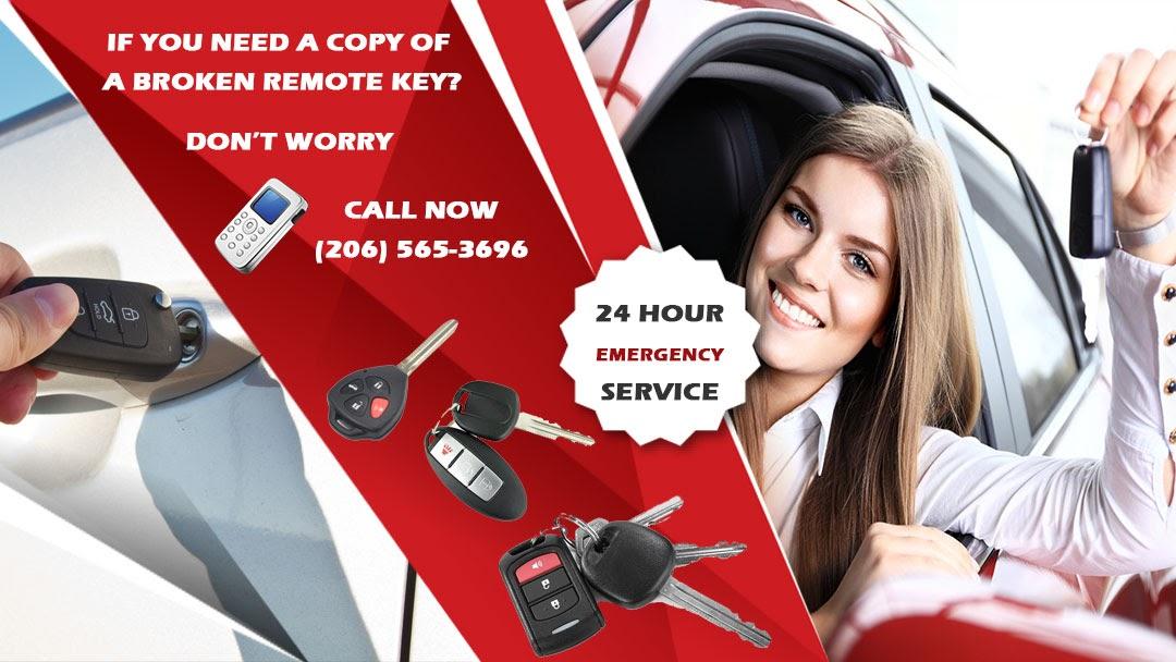 Remote Car Key Repair Near me - Call Now - 24 Hour Emergency