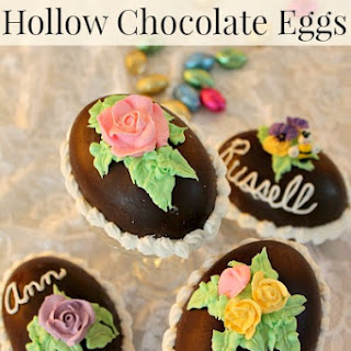How to Make Hollow Chocolate Easter Eggs