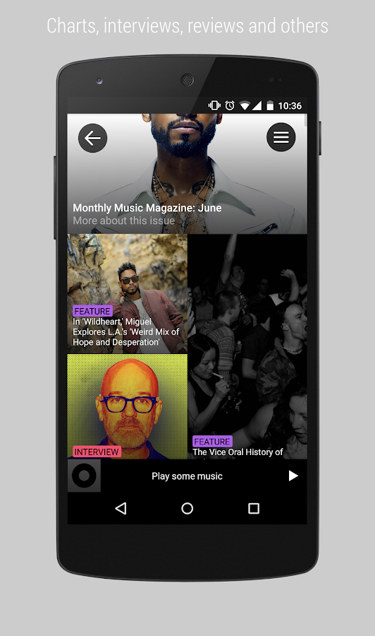 Pause - Curated Music Stories- screenshot