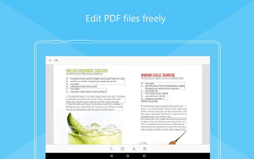 Foxit Mobile PDF  - Edit and Convert 6.6.1.0121 screenshots 18