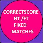 CORRECT SCORE HT/FT FIXED MATCHES 9.1