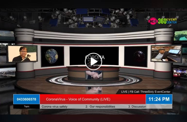 Corona Virus – Voice of Community (Live)