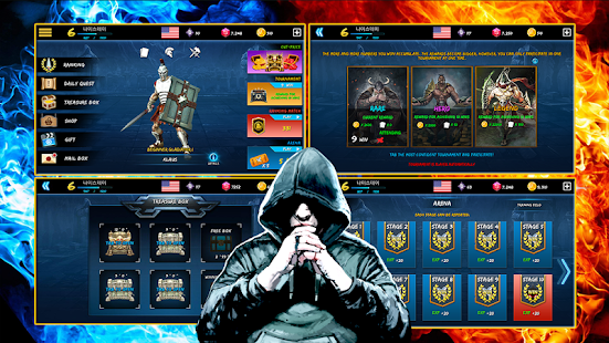 Battle Fight : VS Fighting 15