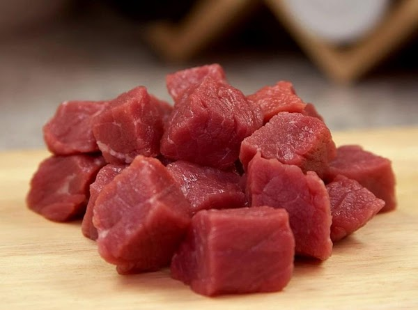 It takes about 20 minutes to chop and saute fresh meat. If using fresh...