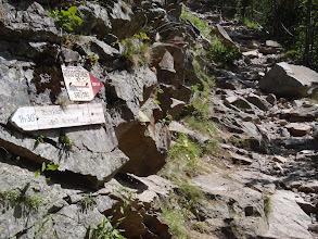 Photo: Cruïlla amb el camí als ivons d'Arriel