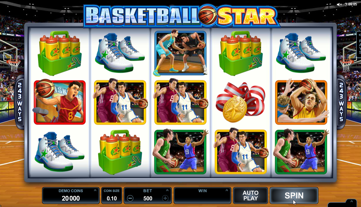 Basketball Star Slots Game Review