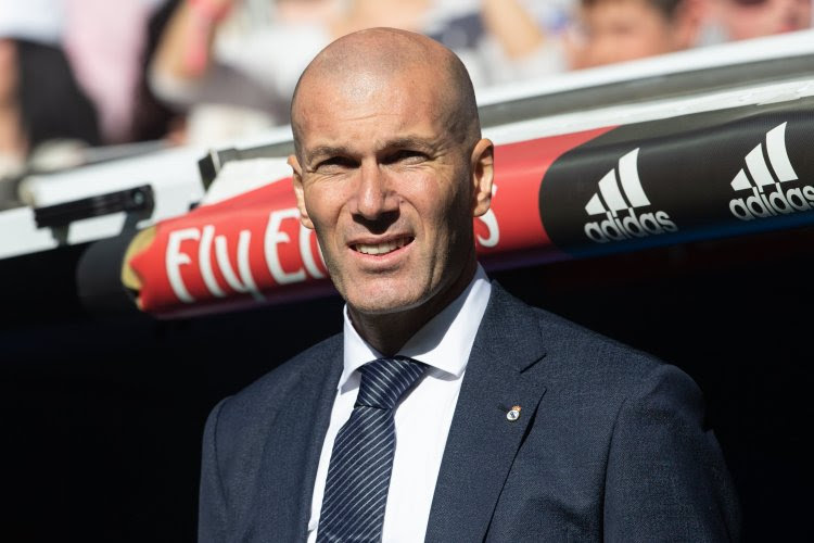 """Zidane ouvre la porte à l'une des cibles prioritaires du Real Madrid : """"Je l'aime beaucoup, il peut tout faire"""""""