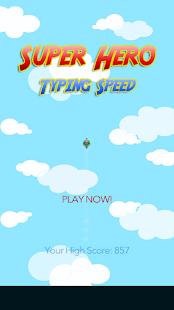 Typing Games Master screenshot
