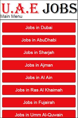 UAE Jobs - screenshot