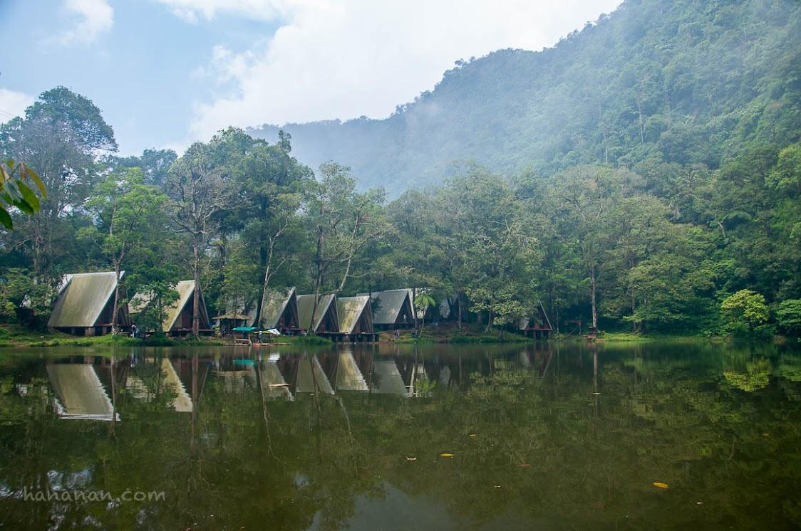 Salah satu lokasi kamping tanggal 6 Agustus lalu tapi gagal. Telaga Warna, Puncak Pass, Bogor, Jawa Barat