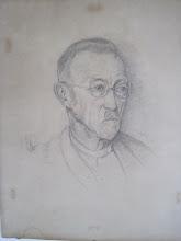 Photo: Vater Ludwig Kreuder, Bleistift, 1935