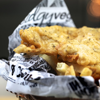 Vegan Beer Battered Fish & Chips
