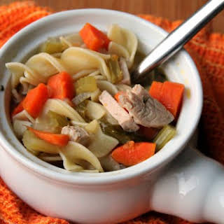 Leftover Turkey Soup - Easy Day After Thanksgiving.
