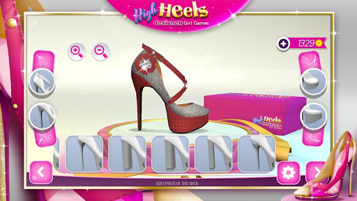 High Heels Designer Girl Games 2.1.1 Screenshots 6