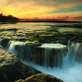 Chasm in time by Mpe'- Indra Prameswara - Landscapes Waterscapes