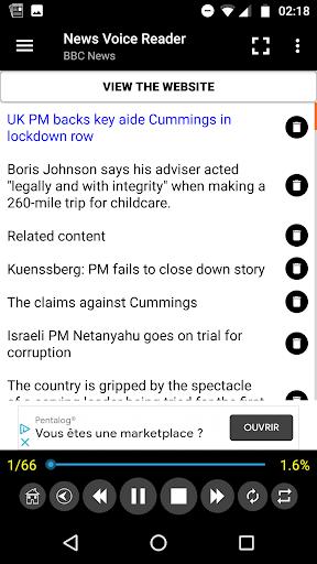 News Voice Reader 10.8.3 Screenshots 6